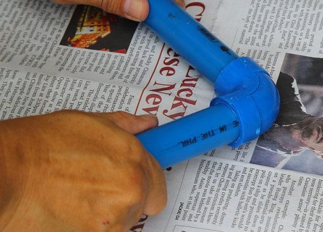 Фен для пайки пластиковых труб
