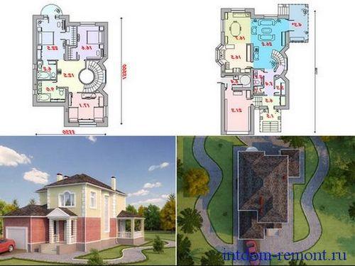 Свой дом из крупнопористого керамзитобетона смесь бетонная окпд