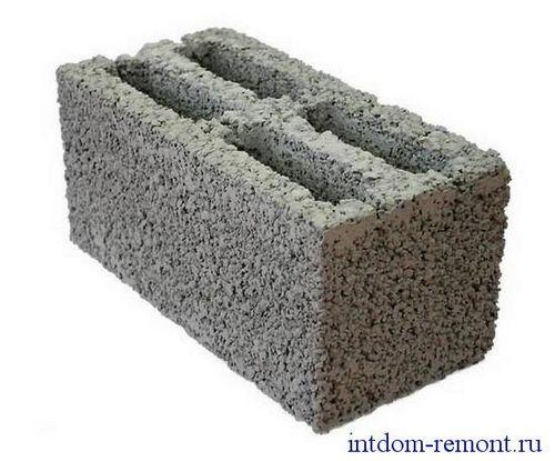 Строительство монолитное из керамзитобетона бетон реком